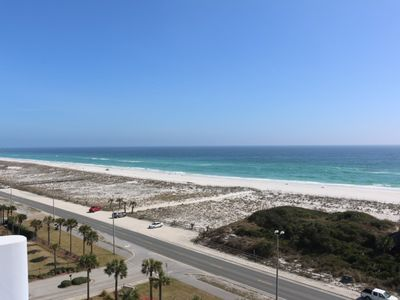Photo for Spacious three Bedroom with Amazing Gulf of Mexico and Pensacola Bay Views from the 8th Floor