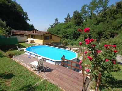 Photo for Beautiful  villa for 6 people with private pool, internet, TV, patio, pets allowed and parking