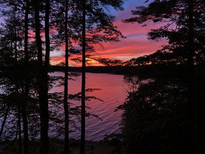 Astounding Loon Lookout At Damariscotta Lake Maine Usa Jefferson Home Remodeling Inspirations Cosmcuboardxyz