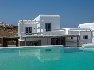 Photo for R582 Luxury Villa with Private Infinity Pool, Jacuzzi and Bar BBQ Sea Views