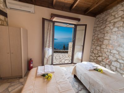 Photo for Ionian View Villas For absolute repose with a spectacular view of the Ionian sea