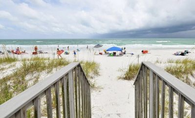 Photo for Spacious 3 Bedroom, 2 1/2 bath Condo, Steps to the beach! 2 pools and Hot Tub!