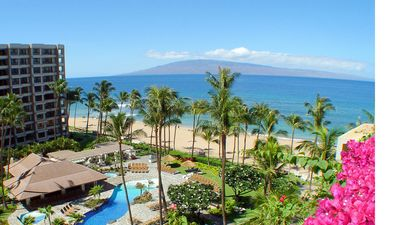 Photo for Ka'anapali Beach Club Oceanfront Resort, 1 bedroom deluxe ocean
