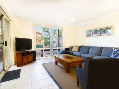 Photo for Bennetts Beachhouse HAWKS NEST with GAMES ROOM & POOL + 150m to beach