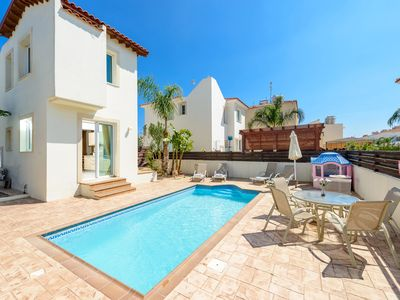 Photo for An exquisite 2 bedroom villa with private swimming pool located in Pernera