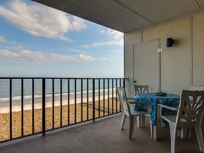 Photo for Amelia South F-6 Oceanfront Condo with Balcony