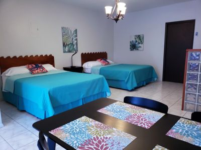 Photo for Downtown Rincon Suite! Free HULU, short walk to the ocean, plaza and more!
