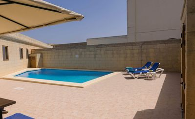 Photo for Gozo Inn Cittadella Sleeps 9 with private pool, and garden