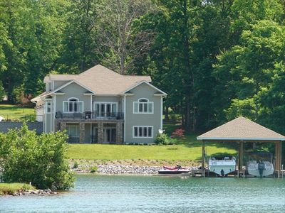 Photo for Huge Waterfront Home, on Golf Course, Pools, Beaches, Tennis & More!