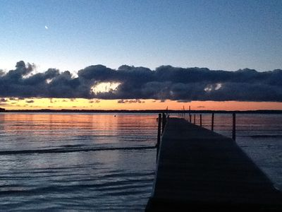 Photo for Waterfront, Family-friendly, Spacious Home Near Traverse City - Amazing View!