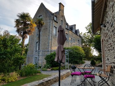 Photo for The Conciergerie is the dependence of Villa Le Gaudin, in Saint Jean le Thomas.