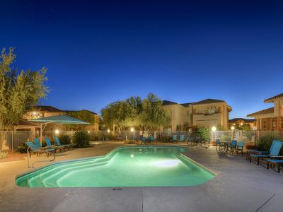 Photo for Resort condo with mountain views, shared pool and hot tub!
