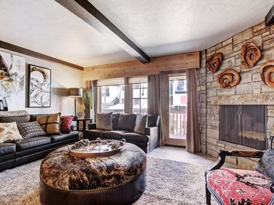 Photo for Alpine Studio+ Wood-Burning Fireplace & Amazing Location! On-site Pool