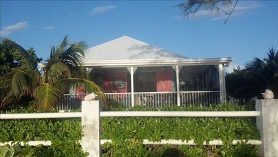 Photo for Grand Turk Ocean Front Cottage On Beautiful Pillory Beach