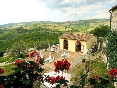 Photo for Holiday apartment Castellina in Chianti for 1 - 6 persons - Holiday apartment