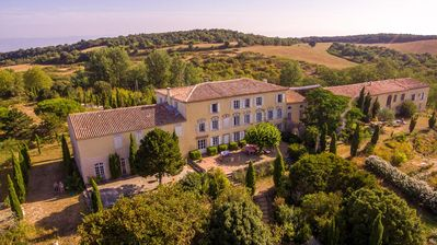 Photo for Stylish Artist's Domaine with Large Pool and Stunning Views of the Pyrenees