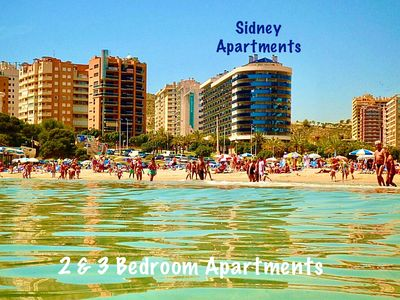 Photo for B. Sidney 2 Bedroom Apartment (close to the beach of La Cala Finestrat)