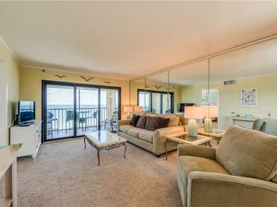 Cascades #503,  Sleeps 6,  3 Bedrooms, Gulf Front, Gulf Front, Elevator, Heated Pool