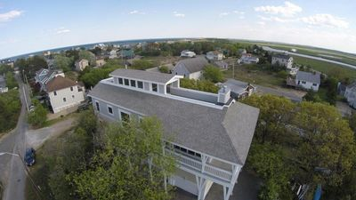 Photo for Luxury 4 BR/3BA +bonus rm-Rooftop decks w/ Ocean & Marsh View