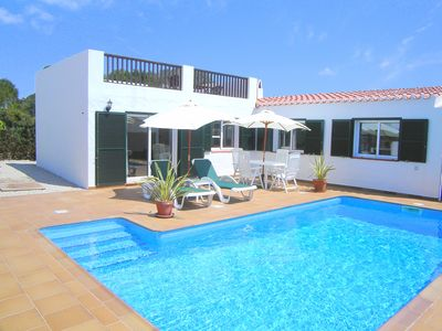 Photo for BEAUTIFUL VILLA WITH SPECTACULAR 180º SEA VIEWS & DELIGHTFUL SWIMMING POOL