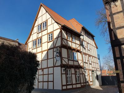 Photo for Exclusive apartment in a listed half-timbered house in Quedlinburg