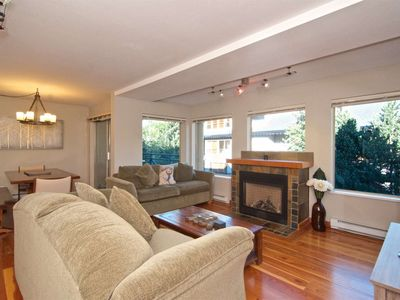 Photo for Superb 2 bedroom townhouse with View- across from Village