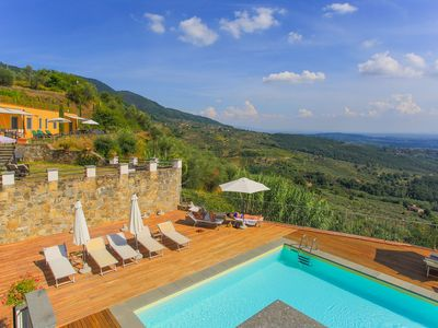 Photo for Bellavista 1 Apartment in Villa - Apartment with amazing view on the countryside up to 5 sleeps