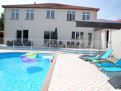 Photo for VERY LARGE GITE WITH HEATED SWIMMING POOL NEAR LES SABLES