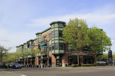 Orenco Station Town Center is only 0.1 miles away.  Great restaurants & grocery!