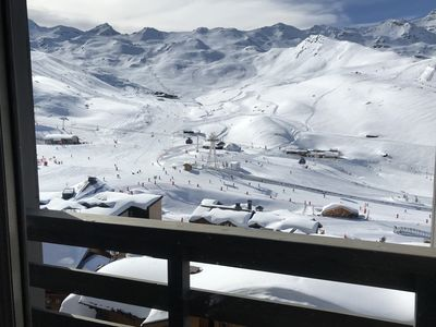 Photo for Beautiful 3 rooms apartment in Val Thorens comfortable view impregnable