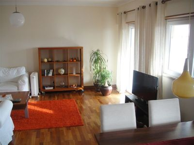 Photo for Sunny Apartment with Sea View in Quiet Area of Monte Estoril