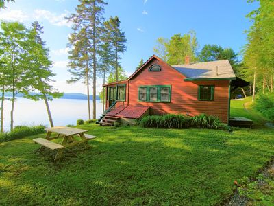 Photo for Quintessential Maine Lake Cottage, Quanhawasset, a John Calvin Steven's Original