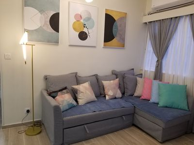 Photo for NEW!!!3BR apt 30secs toMTR Perfect for grp and family CENTRE OF TST