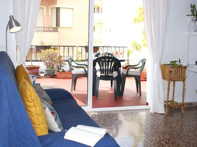 Photo for Bright and cozy apartment in downtown Fuengirola!