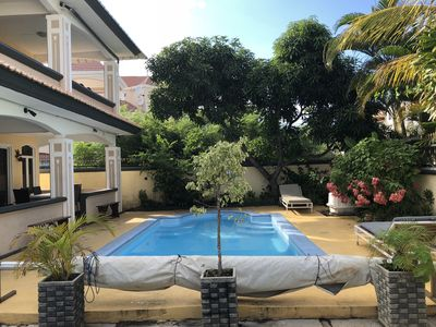 Photo for Villa in Mont Choisy 5 bedrooms with private pool 5 mins from the beach