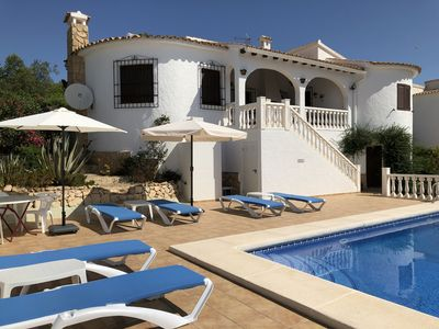 Photo for Villa with private swimming pool and sea view