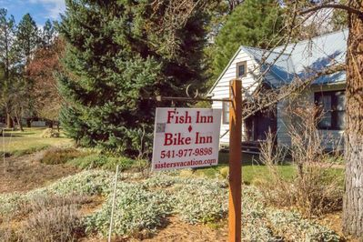 Sign in Front of House