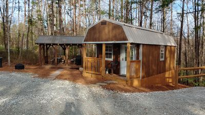 Photo for Tiny Cabin, Country Living Rentals Tanyard, LLC