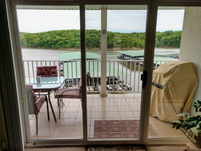 Photo for Lakefront Walk In Condo in Osage Beach at Parkview Bay