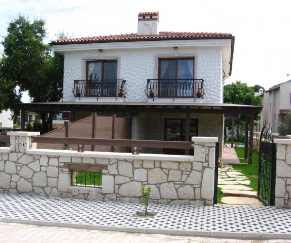 Semi Detached Duplex Stone Villa In Alacati...