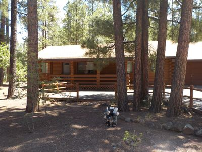 Photo for Spectacular Cabin Nestled In The Pines In Pinetop Lakes Country Club