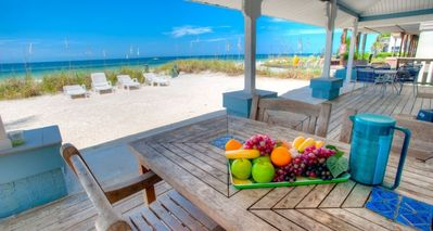 Photo for BEACH HOUSE DIRECTLY ON THE SAND WITH POOL