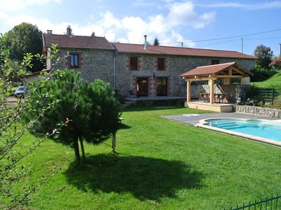 Photo for Restored barn in privat domain (3.5 hectares) with pool and 2 lakes
