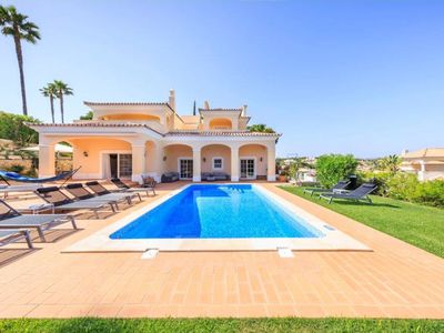 Photo for A striking, air-conditioned, five bedroom villa situated in Dunas Douradas resort, walking distance