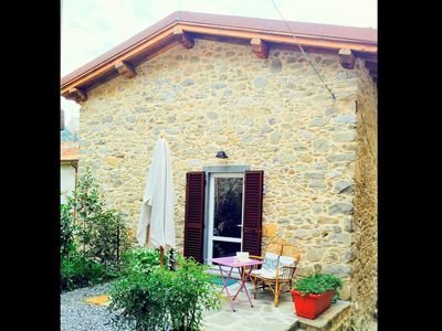 Photo for Old renovated house in the centre of the mountain village of Pascoso
