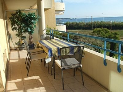 Photo for Stunning apartment with panoramic sea views and a sandy beach on the doorstep