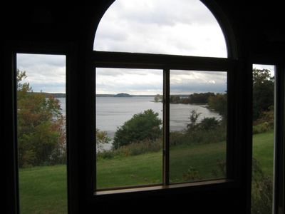 Beautiful view of Saratoga Lake Looking out from Dining Area
