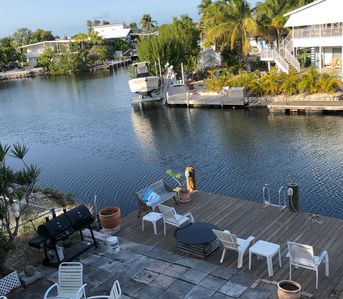 Photo for Islamorada waterfront home- great access to bay and ocean ,2 /2 +66 ft dock