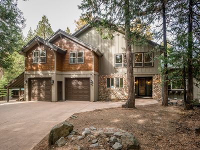 Photo for Elegant and family-friendly cabin w/ deck, grill, fireplace, and game room!
