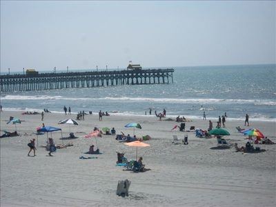 Photo for Fantastic Ocean & Apache' Pier Views Relaxing Beaches Enjoy Fishing & Golfing